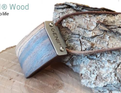 Heimische Innovation GENII® Wood jetzt auch in hochwertigem & nachhaltigem Holzdesign erhältlich!